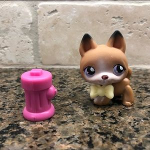Lps Littlest Pet Shop German Shepherd Dog